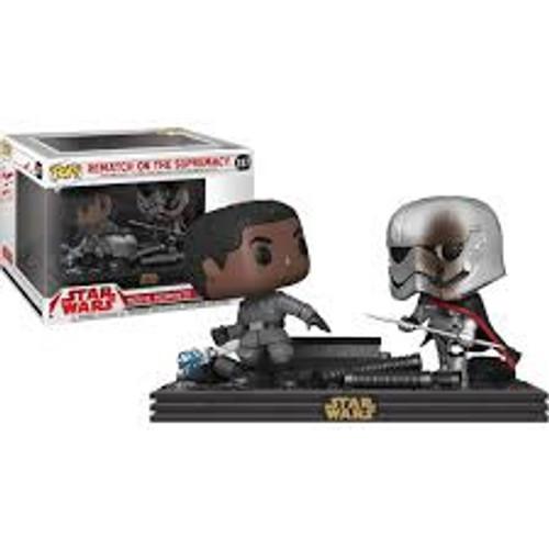 Pop Star Wars: Finn Vs Phasma Duel #257 REDUCED TO CLEAR