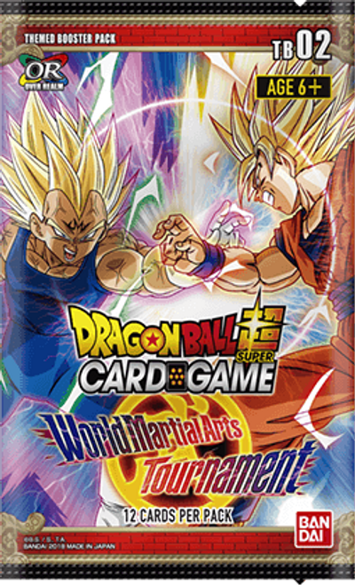 Dragon Ball Super Cg: Booster Pack: World Martial Arts Tournament