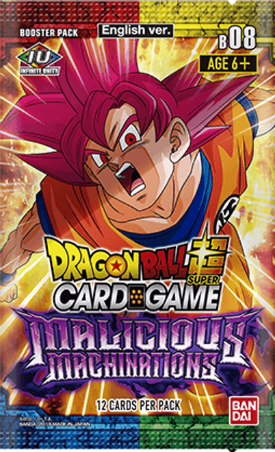 Dragon Ball Super Cg: Booster Pack: Malicious Machinations