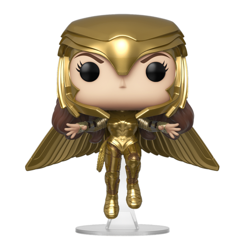 Pop Wonder Woman 1984: Wonder Woman (Gold Flying Pose) #324 REDUCED TO CLEAR