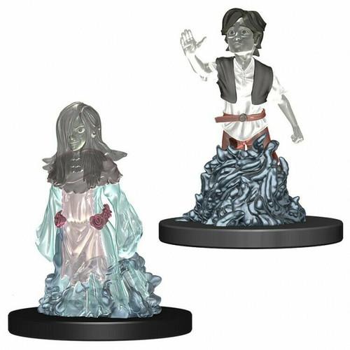 WizKids Wardlings Miniatures Ghost (Female) & Ghost (Male)