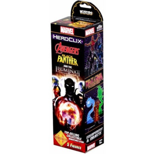 Heroclix Avengers Black Panther And The Illuminati Booster