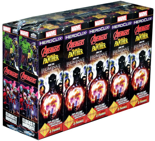 Heroclix Avengers Black Panther And The Illuminati Booster Brick