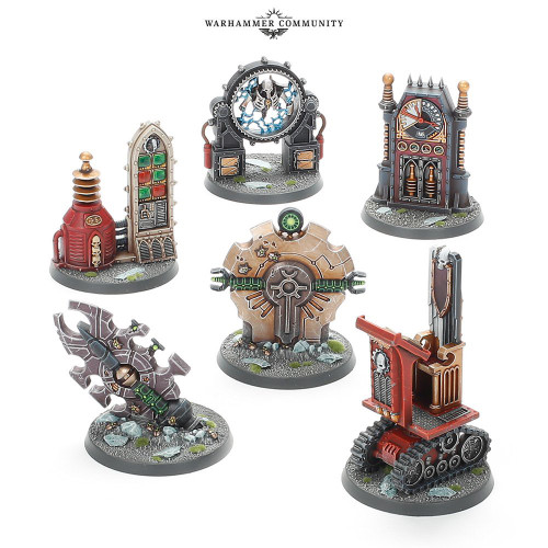 Battlezone: Manufactorum Objective Set