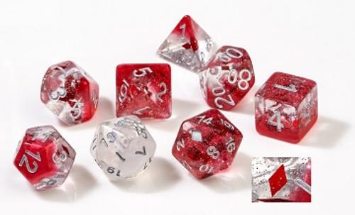 Diamonds Polyhedral Dice Set - Sirius Dice