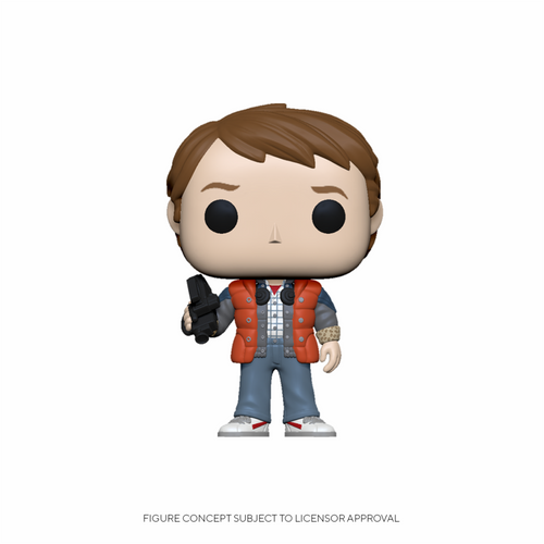 Funko POP! Vinyl: Back to the Future - Marty in Puffy Vest #961