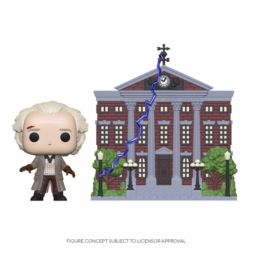 Pop Back to the Future: Doc With Clock Tower #15