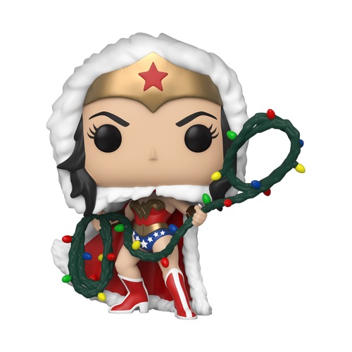 POP DC Holiday: Wonder Woman with Lights Lasso #354 PRE-ORDER EXPECTED SHIPPING DATE 11/09/20