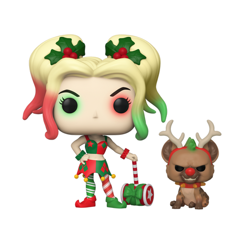 Pop DC Holiday: Harley Quinn with Helper #357