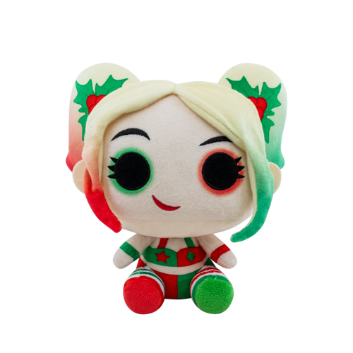 "Pop Plush: DC Holiday - 7"" Holly Quinn PRE-ORDER EXPECTED SHIPPING DATE 4/11/20"
