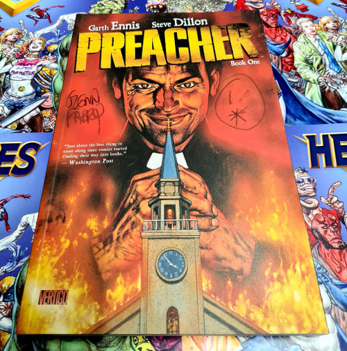 Preacher Book 01 Signed by Glen Fabry