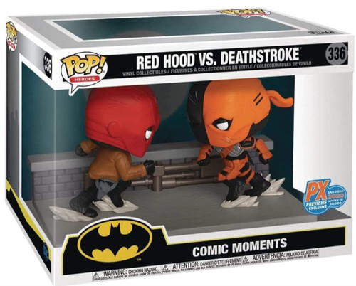 Funko POP! Vinyl: Sdcc 2020 DC Red Hood Vs Deathstroke #336
