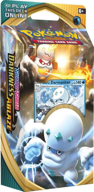 Pokemon TCG: Sword & Shield 3 - Darkness Ablaze Theme Deck: Darmanitan