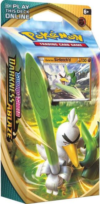 Pokemon TCG: Sword & Shield 3 - Darkness Ablaze Theme Deck: Sirfetch'd