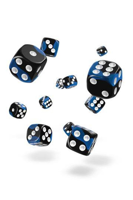 Oakie Doakie Dice D6 Dice 12 mm Glow in the Dark - Deep Ocean (36)