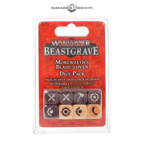 Warhammer Underworlds: Morgwaeth's Blade-Coven Dice Set