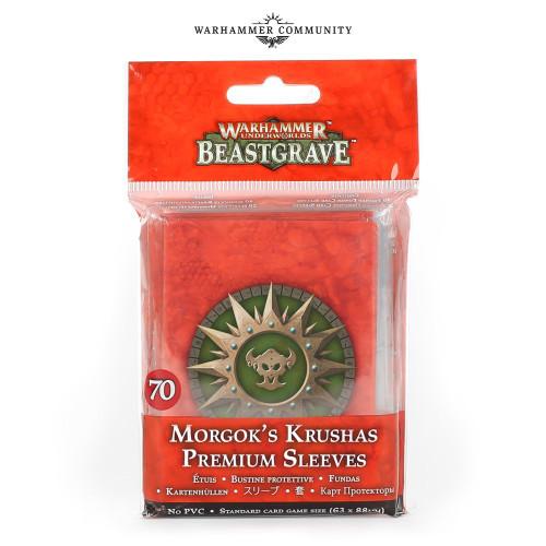 Warhammer Underworlds: Morgok's Krushas Premium Card Sleeves