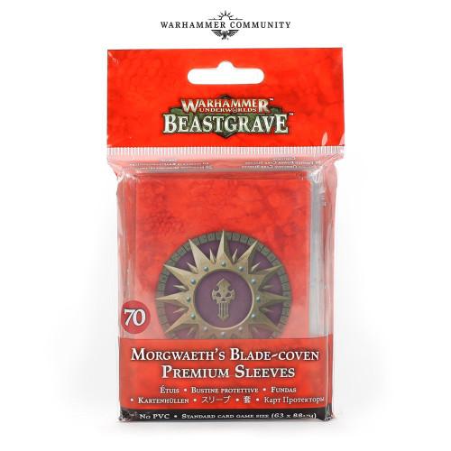 Warhammer Underworlds: Morgwaeth's Blade-Coven Card Sleeves