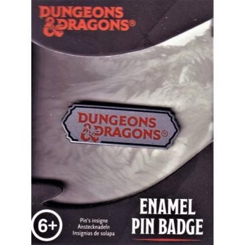Paladone Dungeons & Dragons Logo Enamel Pin Badge