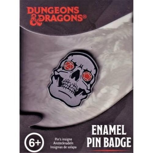 Paladone Dungeons & Dragons Skull Enamel Pin Badge