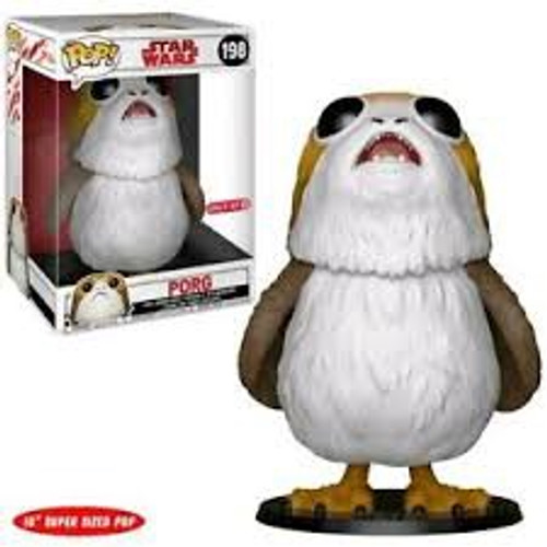 "Pop Star Wars: 10"" Porg #198 REDUCED TO CLEAR"