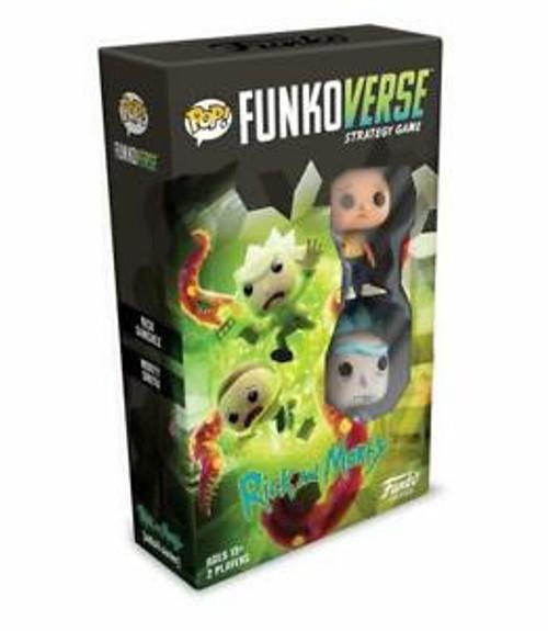 Pop Funkoverse Strategy Game Rick & Morty Expandalone
