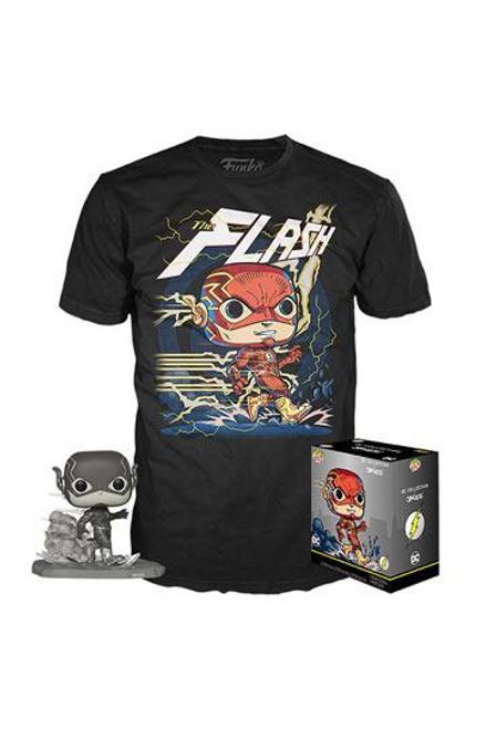 DC Jim Lee POP! & Tee Box Flash heo  Exclusive Size S