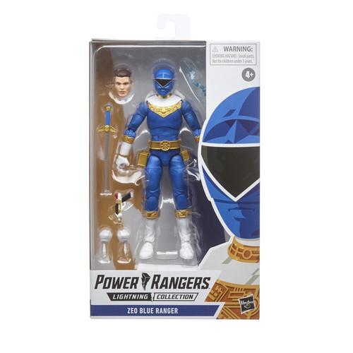 Power Rangers Light Collection Zeo Blue Ranger Action Figure