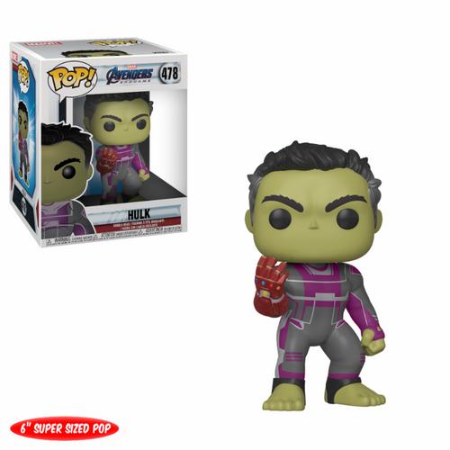 "Pop Avengers Endgame: 6"" Hulk With Gauntlet #478"