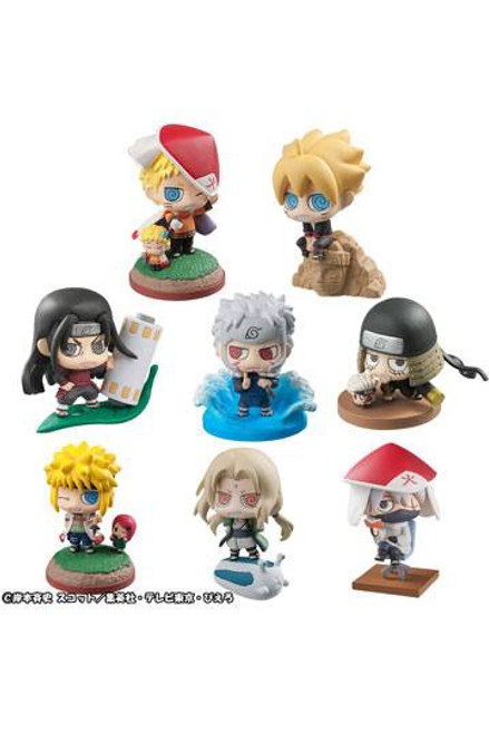 Boruto Naruto Next Generation Petit Chara Land Trading Figure 6 cm Assortment Boruto & Hokage
