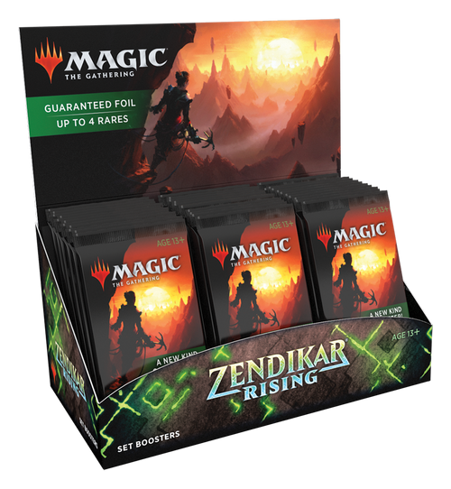 MTG: Zendikar Rising Set Booster - Sealed Box of 30