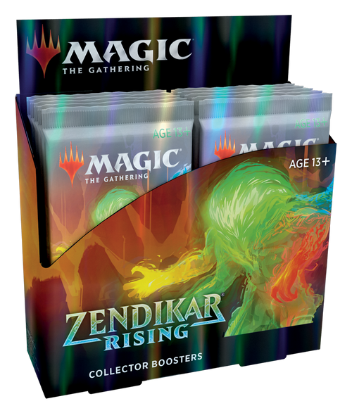 MTG: Zendikar Rising Collector Booster - Sealed Box of 12