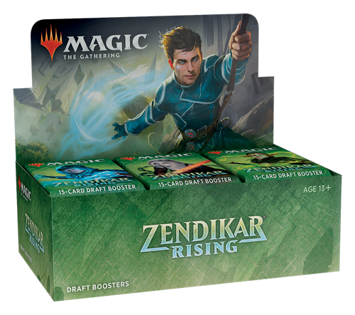 MTG: Zendikar Rising Draft Booster - Sealed Box of 36