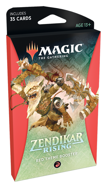 MTG: Zendikar Rising Red Theme Booster