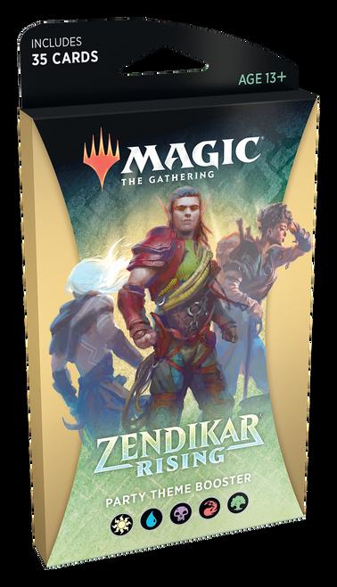 MTG: Zendikar Rising Multi-Colour Theme Booster