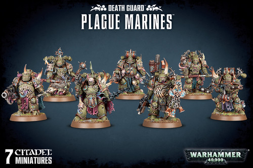 Death Guard Plague Marines (older packaging)
