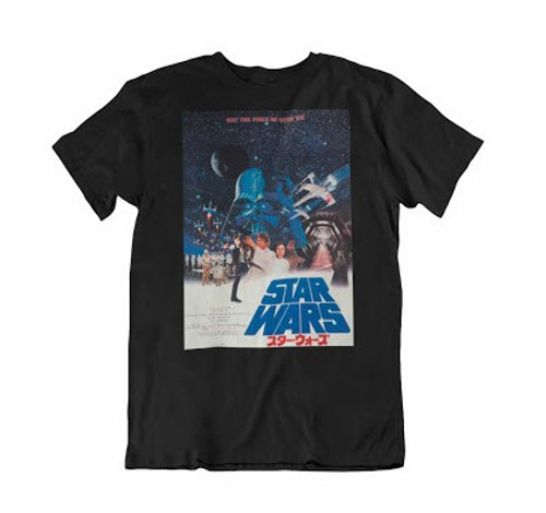 Star Wars A New Hope Japanese Poster T/S XL