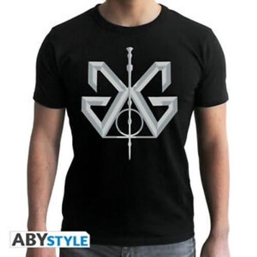 Fantastic Beasts Grindelwald Black T-Shirt - Large