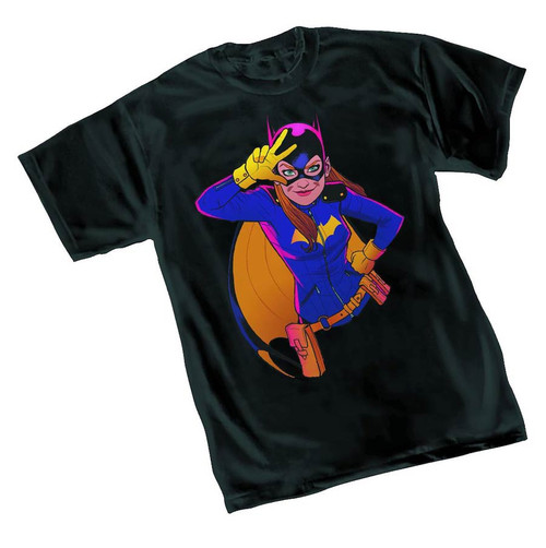 Batgirl Rave By Tarr Womens T/S XL