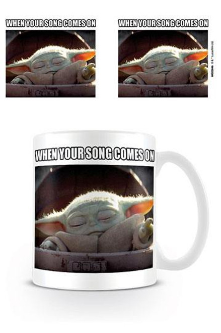Star Wars The Mandalorian Mug When Your Song Comes On
