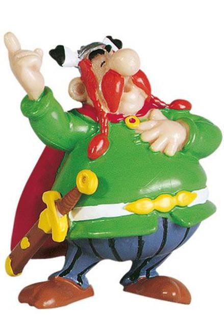 Asterix Figure Vitalstatistix the Chief 6 cm