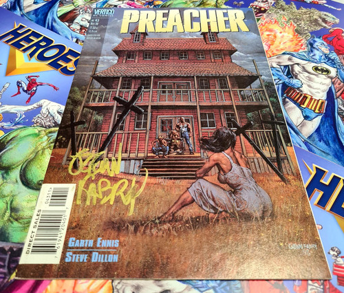 Preacher #43 Signed By Glenn Fabry