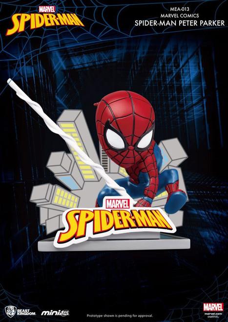 Marvel Comics Mini Egg Attack Figure Spider-Man Peter Parker 8 cm