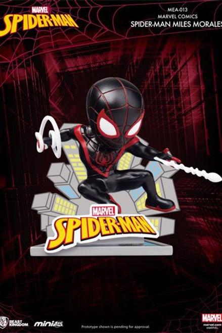 Marvel Comics Mini Egg Attack Figure Spider-Man Miles Morales 8 cm