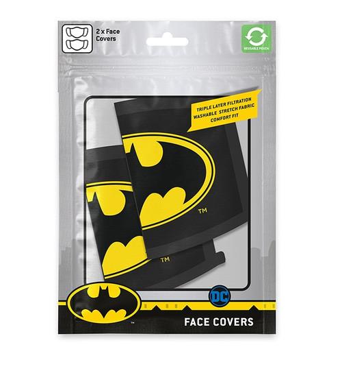 Batman Logo 2Pk Face Covering