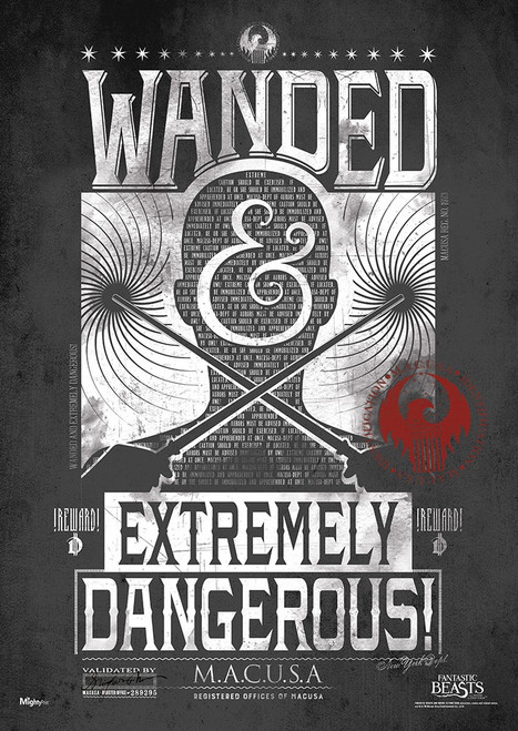 Fantastic Beasts: Wanded Poster 43 x 61 cm Wall Art