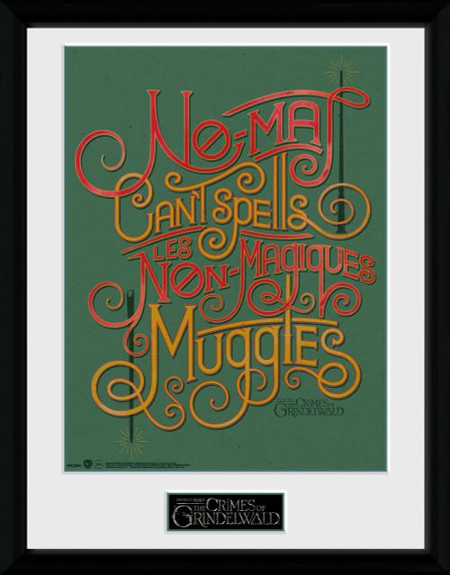 Fantastic Beasts 2: No-Maj Collector Print