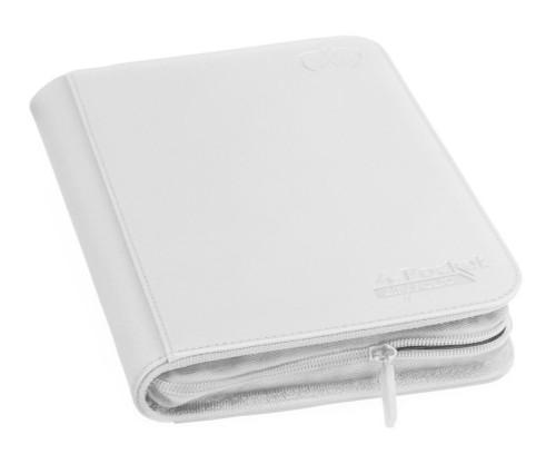Ultimate Guard Zipfolio 160 - 4-Pocket XenoSkin - White