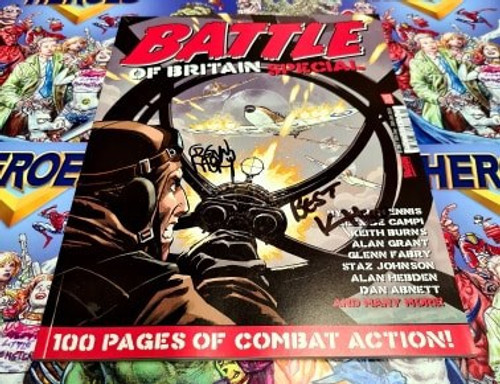 Battle Of Britain 2020 Special Signed By Glenn Fabry & Karen Holloway