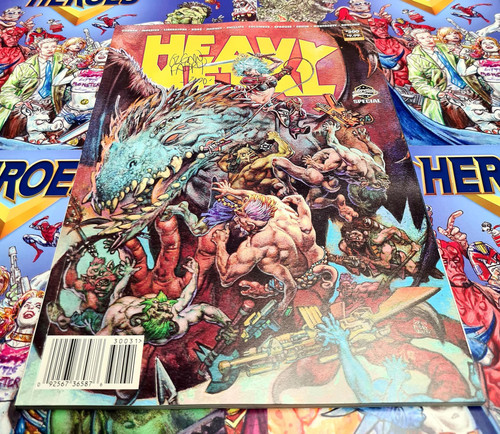 Heavy Metal #300 Cvr C - Signed by Glenn Fabry